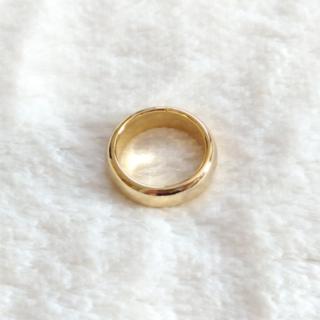 セール OPEN THE DOOR ラウンド リング 指輪 グロス 12号 金色