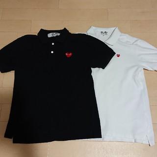 コムデギャルソン(COMME des GARCONS)のコム・デ・ギャルソンプレイ ポロシャツ  COMME des GARCONS(ポロシャツ)