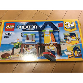 レゴ(Lego)のレゴ(LEGO)CREATOR 31063 ビーチサイド(積み木/ブロック)