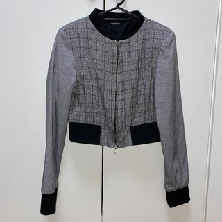 EGOIST - EGOISTノーカラーツイードジャケット