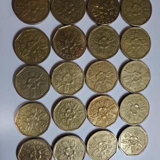シンガポール ドル コイン  硬貨 金運 風水 旧貨幣 古銭(貨幣)