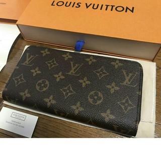 ルイヴィトン(LOUIS VUITTON)のルイヴィトン ジッピーウォレット 財布(長財布)