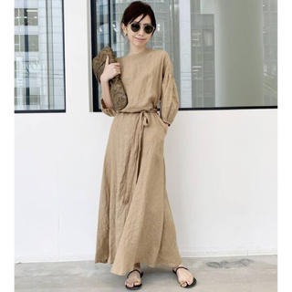 アパルトモンドゥーズィエムクラス(L'Appartement DEUXIEME CLASSE)の新品☆ Linen Madam Dress(ロングワンピース/マキシワンピース)
