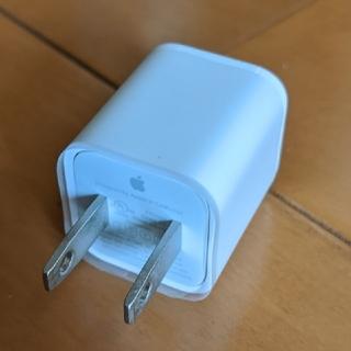 アップル(Apple)のiPhone 純正 充電器 コンセント(バッテリー/充電器)
