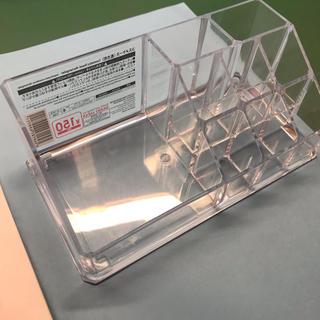 クリアケース コスメケースダイソー化粧品収納コスパ良!ボックスメイク(ケース/ボックス)
