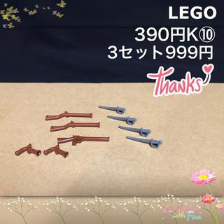 レゴ(Lego)のLEGO 武器 K⑩ 海賊 鉄砲 ピストル サーベル 剣(積み木/ブロック)