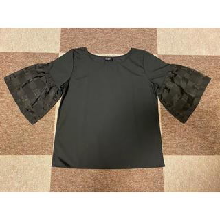 シマムラ(しまむら)のカットソー ブラウス トップス(シャツ/ブラウス(半袖/袖なし))