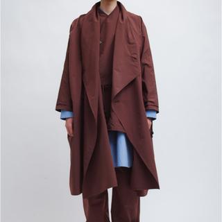 【新品未使用】Omar afridi Draped Layer Coat