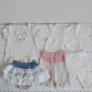 クーラクール(coeur a coeur)のcoeur a coeur/女の子/半袖シャツ/パンツ/セット/80cm(その他)