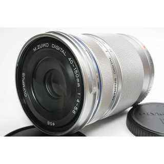 オリンパス(OLYMPUS)の❤️望遠レンズ❤️OLYMPUS M.ZUIKO 40-150mm R シルバー(レンズ(ズーム))