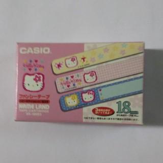 カシオ(CASIO)のあんちゃん専用テプラテープ ハローキティ18mm(テープ/マスキングテープ)