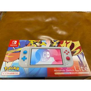 ニンテンドウ(任天堂)の☆ニンテンドースイッチライト本体 ターコイズ☆ Nintendo Switch (家庭用ゲーム機本体)