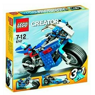 レゴ(Lego)のレゴ★クリエイター レースライダー 6747 USED 人気 激レア(知育玩具)