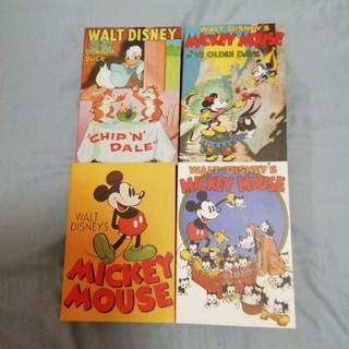 ディズニー(Disney)のディズニー 名作シリーズ ユニクロ ブック型 小物入れ(小物入れ)