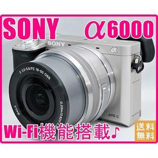 ソニー(SONY)のSONY ソニー α6000 高性能&高機能ミラーレス一眼レフ(ミラーレス一眼)