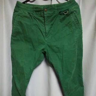 LUZ - LUS e SOMBRA ジョガーパンツ(グリーン) [XL]