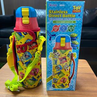 ディズニー(Disney)の新品♢スケーター♢トイストーリー♢直飲みステンレスボトル♢水筒♢580ml(弁当用品)