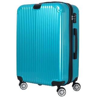 ★Lサイズ 拡張機能付★スーツケース★超軽量★TSAロック★グリーン★(旅行用品)