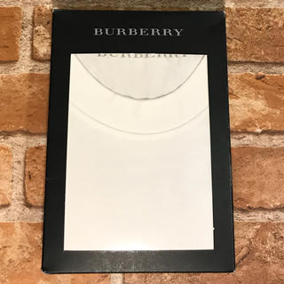 バーバリー(BURBERRY)の正規品 BURBERRY バーバリー Tシャツ LL 白(Tシャツ/カットソー(半袖/袖なし))