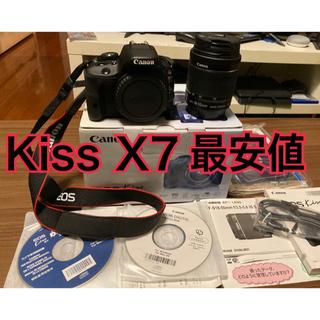 キヤノン(Canon)のCanon EOS kiss x7  レンズキット EF-S 18-55 IS(デジタル一眼)