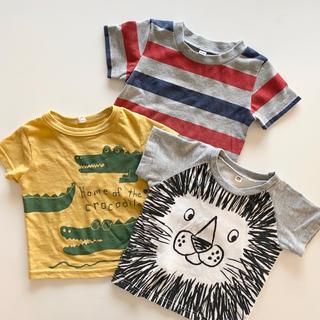 ニシマツヤ(西松屋)の西松屋 Tシャツ 80サイズ 3枚セット(Tシャツ)