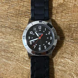 コーチ(COACH)のCOACH コーチ 腕時計 メンズ シルバー 文字盤ブラック (腕時計(アナログ))
