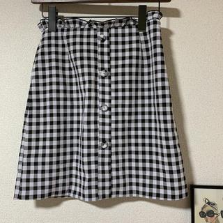 ディーホリック(dholic)のギンガムチェック スカート DHOLIC(ひざ丈スカート)