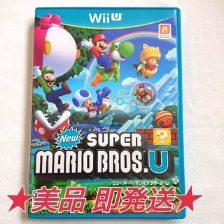 ウィーユー(Wii U)のNew スーパーマリオブラザーズ・U(家庭用ゲームソフト)