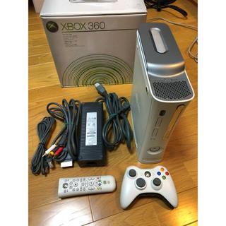 エックスボックス360(Xbox360)のXbox 360  20GBハードディスク ワイヤレスコントローラ他セット(家庭用ゲーム機本体)