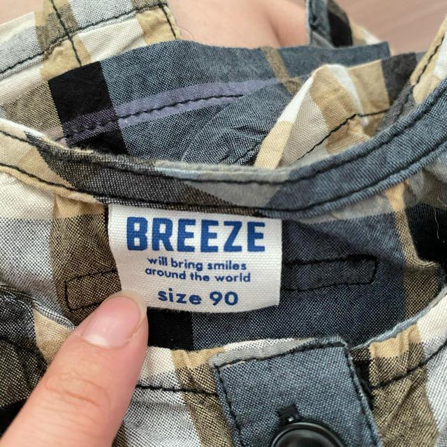 BREEZE(ブリーズ)のワンピース 90 BREEZE キッズ/ベビー/マタニティのキッズ服女の子用(90cm~)(ワンピース)の商品写真