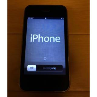 アップル(Apple)の初代iPhone BLACK 「美品」(スマートフォン本体)