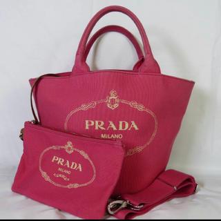 プラダ(PRADA)の大人気★新作 PRADA CANAPA プラダ カナパ サフィアーノ ヴィトン(ショルダーバッグ)