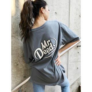 ジェイダ(GYDA)のGYDA 新品 MrDeeds BIGTシャツ グレー(Tシャツ(半袖/袖なし))