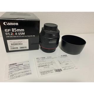 キヤノン(Canon)の【キャノン】Canon EF85 F1.2L 2 USM(レンズ(単焦点))