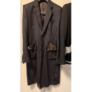 Yohji Yamamoto - sulvam 18aw コート ストライプ