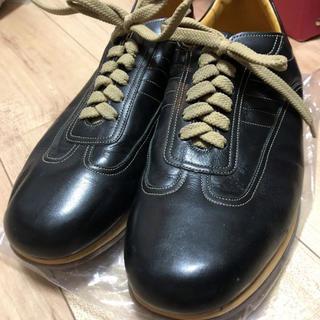 バーバリー(BURBERRY)のBurberry 革靴 黒 メンズ 26センチ(ドレス/ビジネス)