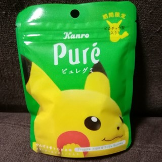 ポケモン(ポケモン)のピカチュウ ポケモン 期間限定 ピュレグミ(菓子/デザート)