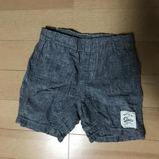 ニシマツヤ(西松屋)の綿麻半ズボン 90㎝(パンツ/スパッツ)