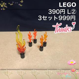 レゴ(Lego)のLEGO レゴフレンズ L② 火 炎 ファイヤー 消防(積み木/ブロック)