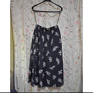 BEAMS - ビームスライト 花柄ロングスカート