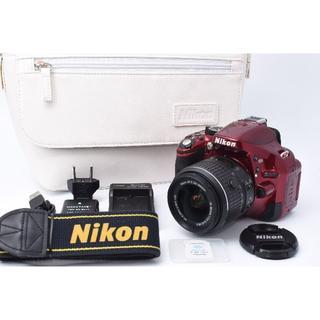 ニコン(Nikon)の★美品★ Nikon D5200 標準レンズセット ※Wifi可能(デジタル一眼)