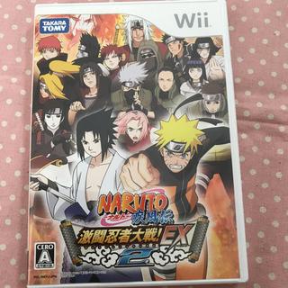 タカラトミー(Takara Tomy)のNARUTO-ナルト- 疾風伝 激闘忍者大戦! EX2 Wii(家庭用ゲームソフト)