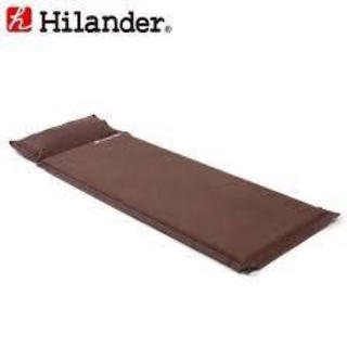 Hilander スエードインフレーターマット(寝袋/寝具)
