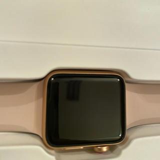 アップルウォッチ(Apple Watch)のApple Watch 38㎜ シリーズ3 ピンクゴールド(その他)