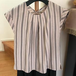 ikka - ikkaフレンチ袖シャツ