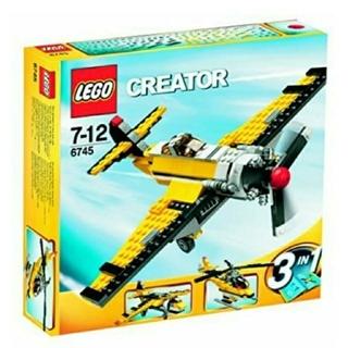 レゴ(Lego)のレゴ★クリエイター プロペラパワー 6745 USED 人気 激レア(知育玩具)