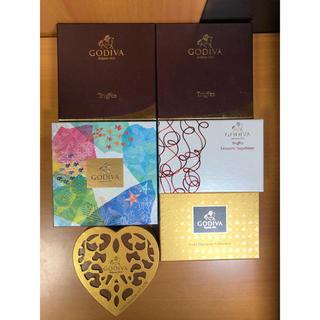 チョコレート(chocolate)のGODIVA 空箱(ケース/ボックス)