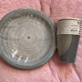 マリメッコ(marimekko)のマリメッコ 紙コップ&紙皿セット 新品未使用(食器)