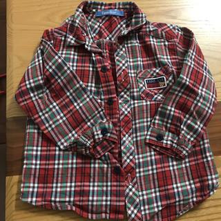 ファミリア(familiar)のfamiliar チェックシャツ(ブラウス)