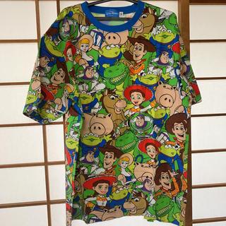 ディズニー(Disney)のディズニー 総柄 Tシャツ トイストーリー(Tシャツ(半袖/袖なし))